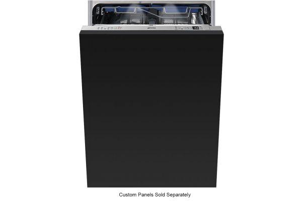"""Large image of Smeg 24"""" Panel Ready Built-In Dishwasher - STU8642"""
