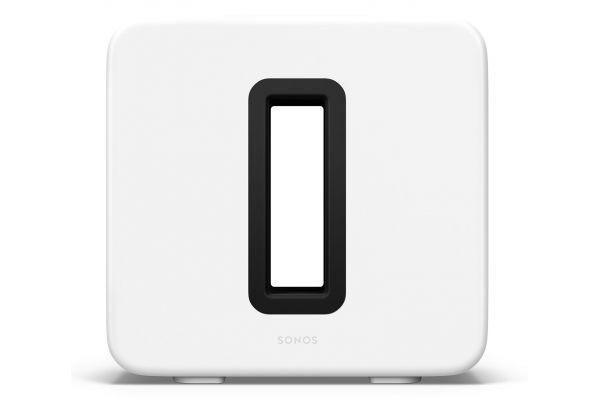 Large image of Sonos Sub (Gen 3) White Speaker - SUBG3US1