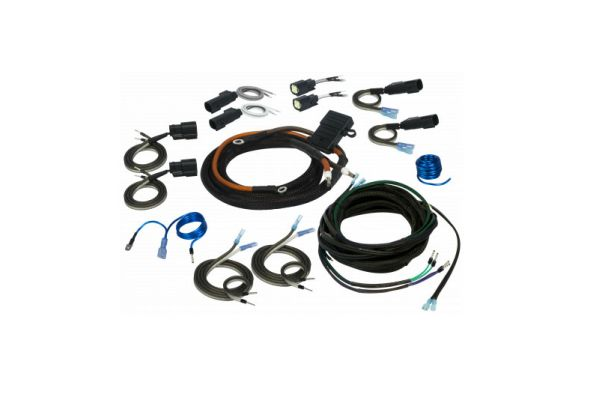 Large image of Stinger Harley-Davidson 2 Or 4 Channel Universal Amplifier Wiring Kit - SVTK4681