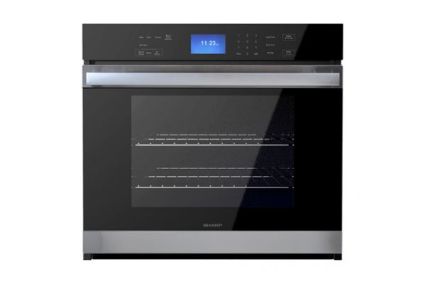 """Large image of Sharp 30"""" Stainless Steel Built-In Single Wall Oven - SWA3052DS"""