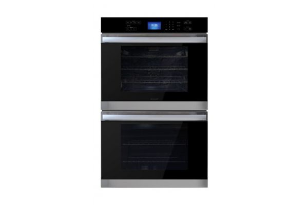 "Large image of Sharp 30"" Stainless Steel Built-In Double Wall Oven - SWB3052DS"
