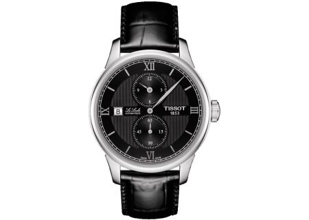 Tissot Le Locle Automatic Petite Seconde Black And Stainless Steel Mens Watch  - T0064281605802