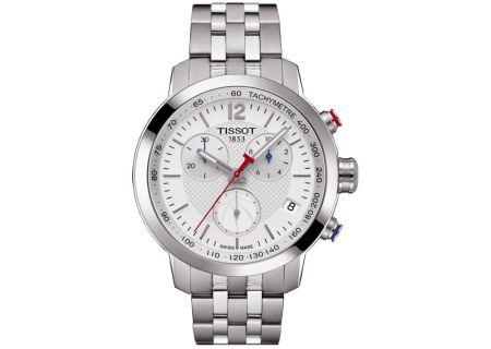 Tissot PRC 200 Quartz Chronograph Gent NBA Stainless Steel Mens Watch  - T0554171101701