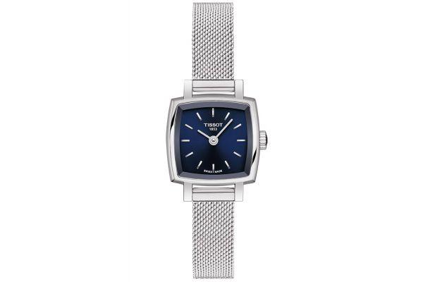 Tissot Lovely Square Stainless Steel Quartz Women's Watch - T0581091104100