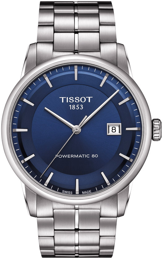 Tissot Blue Face Luxury Automatic Watch T0864071104100
