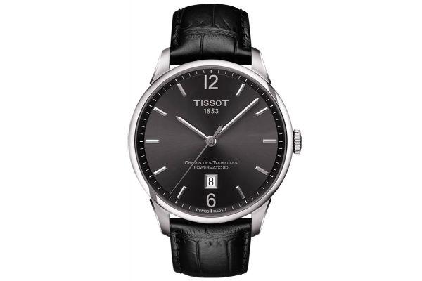 Large image of Tissot Chemin Des Tourelles Powermatic 80 Mens Watch - T0994071644700