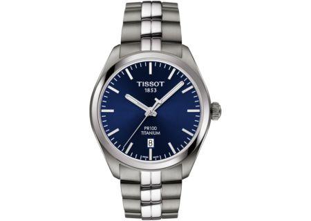 Tissot T-Classic PR 100 Stainless Steel Men's Watch - T1014104404100
