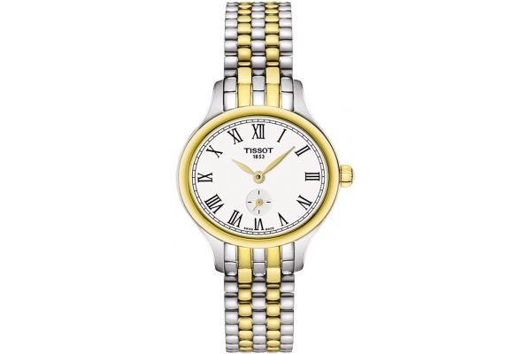 Tissot Bella Ora Piccola Two-Tone Gold Womens Watch - T1031102203300