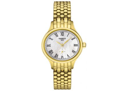 Tissot Bella Ora Piccola Gold Womens Watch  - T1031103311300
