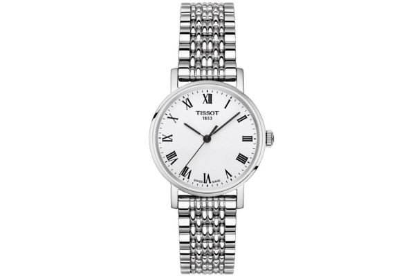 Large image of Tissot Everytime Small Silver Women's Watch - T1092101103300