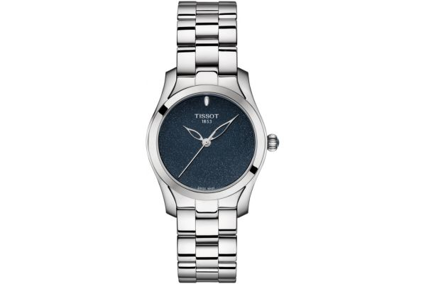 Tissot T-Wave Round Womens Stainless Steel Watch - T112.210.11.041.00