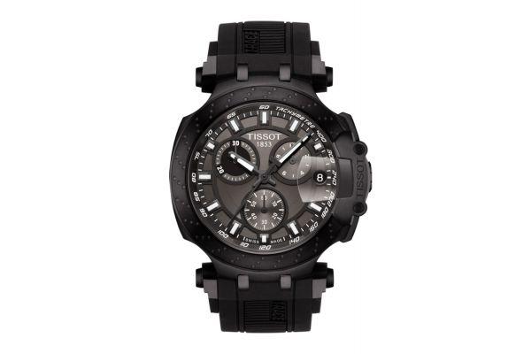 Large image of Tissot T-Race Black Chronograph Mens Watch - T1154173706103