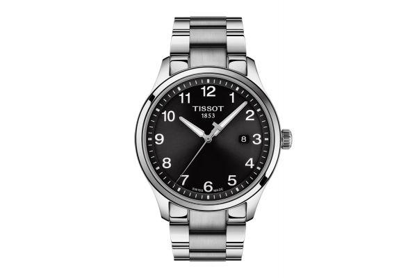 Large image of Tissot Gent XL Classic Black Dial Quartz Men's Watch - T1164101105700