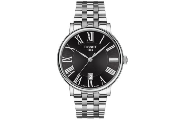 Large image of Tissot Carson Premium Two-Tone Stainless Steel Mens Watch - T1224101105300