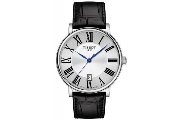 Large image of Tissot Carson Premium Silver Mens Watch - T1224101603300
