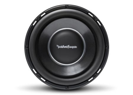 "Rockford Fosgate Power 12"" T1 Slim Single 2-Ohm Subwoofer - T1S2-12"