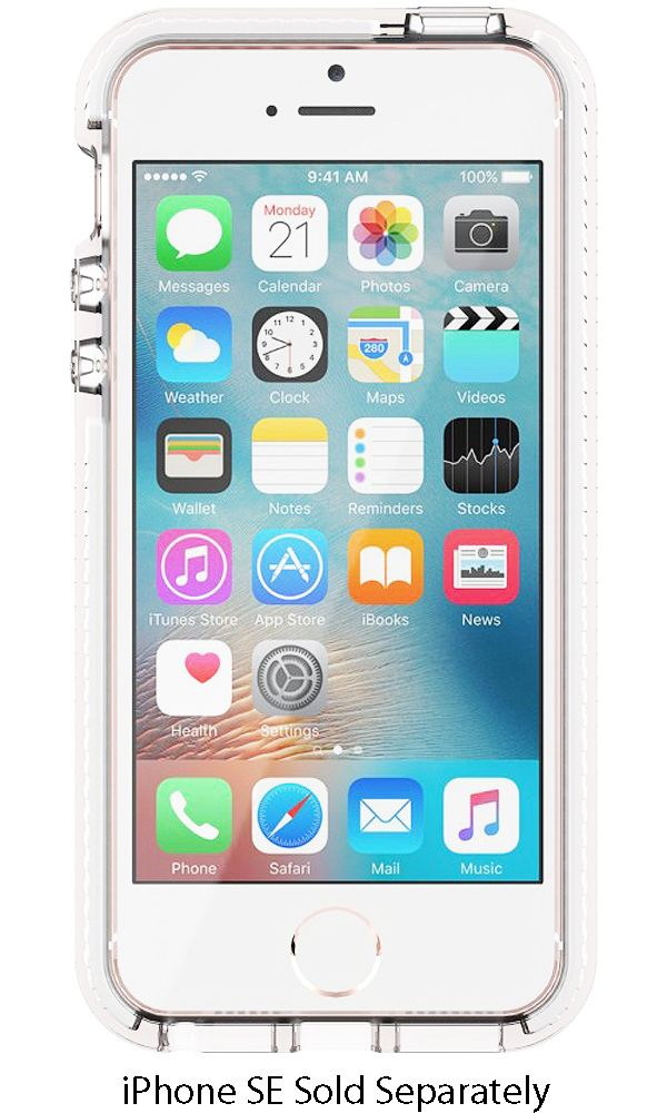 Tech21 evo mesh clear case for iphone se t21 5277