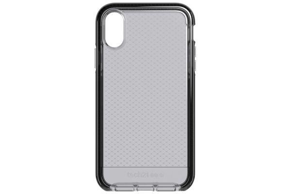 Tech21 Evo Check Smokey Black Case for Apple iPhone XR - T21-6105