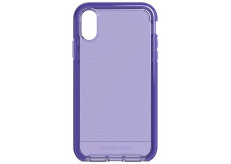 Tech21 Evo Check Ultra Violet Case for Apple iPhone XR - T21-6107