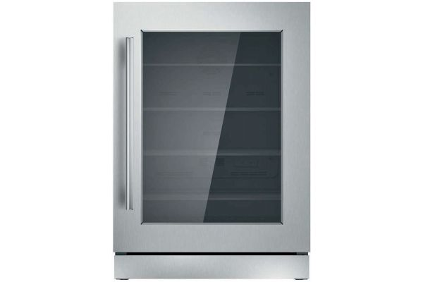 """Thermador 24"""" Masterpiece Stainless Steel Under-Counter Refrigerator - T24UR910RS"""