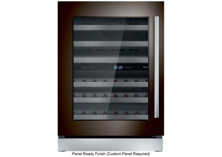 "Thermador 24"" Custom Panel Left-Hinge Wine Refrigerator - T24UW900LP"
