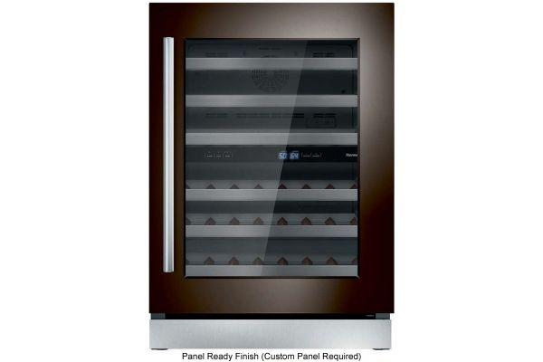 "Thermador 24"" Custom Panel Right-Hinge Wine Refrigerator - T24UW900RP"