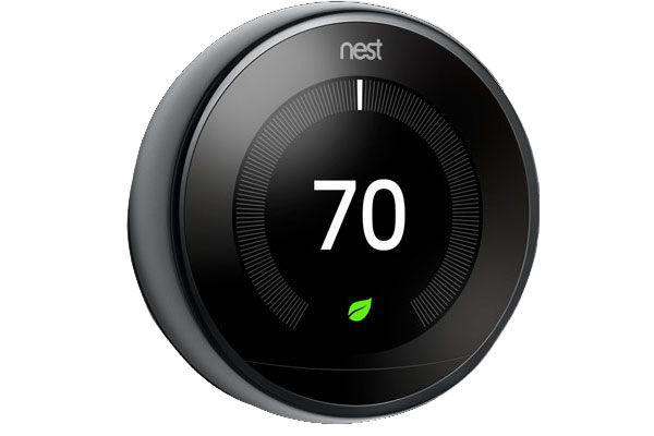 Nest Mirror Black 3rd Gen. Learning Smart Thermostat - T3018US