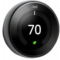 Nest Mirror Black 3rd Gen. Learning Smart Thermostat