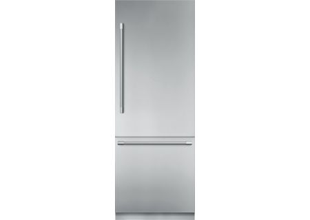 "Thermador 30"" Stainless Steel Built-In Bottom-Freezer Refrigerator - T30BB920SS"