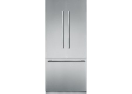 "Thermador 36"" Stainless Steel Built-In French Door Refrigerator - T36BT910NS"