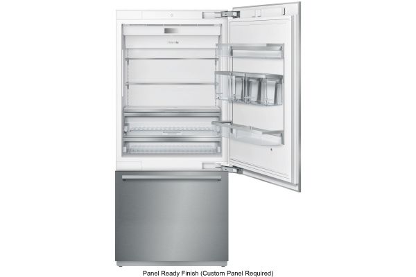 "Thermador Freedom Collection 36"" Panel Ready Built-In Bottom Freezer Refrigerator - T36IB900SP"