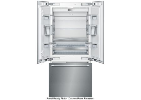 "Thermador Freedom Collection 36"" Panel Ready Built-In French Door Refrigerator - T36IT900NP"