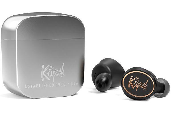 Klipsch T5 Black True Wireless In-Ear Earphones - 1067567
