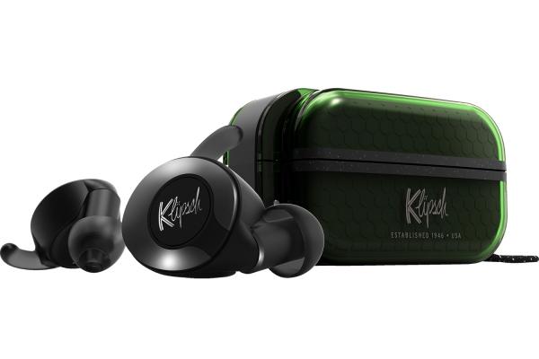 Large image of Klipsch T5 II Green True Wireless Sport In-Ear Headphones - 1069029