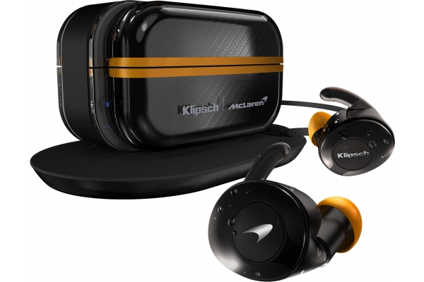 Large image of Klipsch T5 II True Wireless Sport McLaren Edition In-Ear Headphones - 1069154