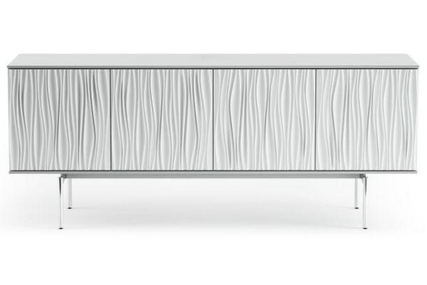 Large image of BDI Tanami 7109 Smooth Satin White Credenza & Media Cabinet - TANAMI7109SW