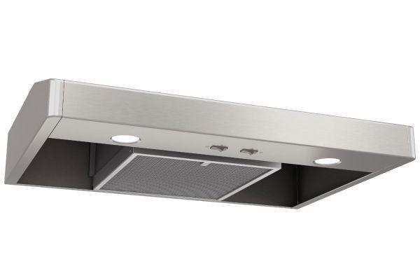 """Large image of Broan Elite Tenaya 1 Series 36"""" Stainless Steel Convertible Under-Cabinet Range Hood - TEN136SS"""