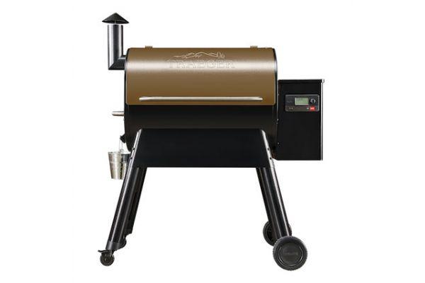 Large image of Traeger Pro 780 Bronze Wood Pellet Grill - TFB78GZE