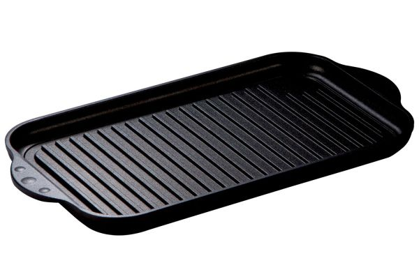 Large image of Thermador Cast Aluminum Non-Stick Induction Grill - TGRILLPANX