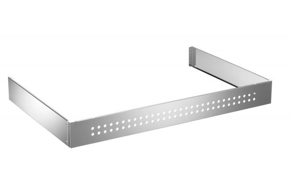 "Large image of Bertazzoni 48"" Stainless Steel Toekick Panel - TKP48X"