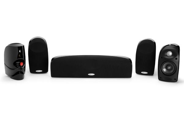 Polk Audio 5-Pack Black Compact Home Theater Audio System - TL250BK