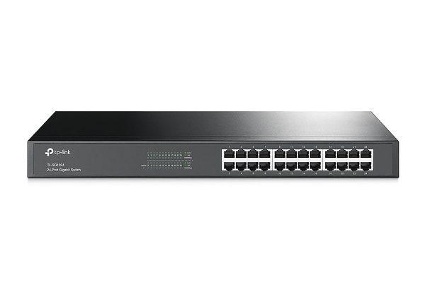 Large image of TP-Link 24-Port Gigabit Rackmount Switch - TLSG1024
