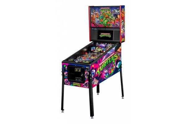 Large image of Stern Pinball Teenage Mutant Ninja Turtles Premium Pinball Machine - TMNTPREMIUM