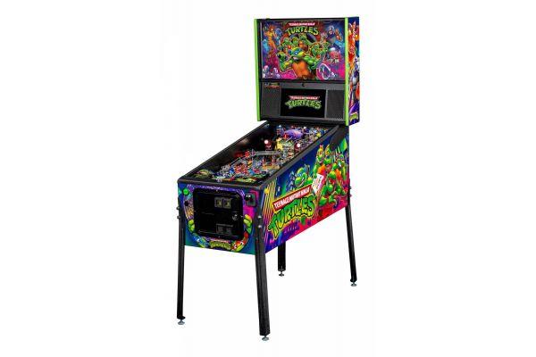 Large image of Stern Pinball Teenage Mutant Ninja Turtles Pro Pinball Machine - TMNTPRO