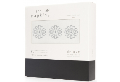 The Napkins - TND40.20.PW.IC.120 - Kitchen Textiles