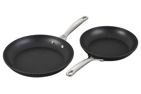 Large image of Le Creuset 2-Piece Toughened Nonstick PRO Large Fry Pans - TNSP7002