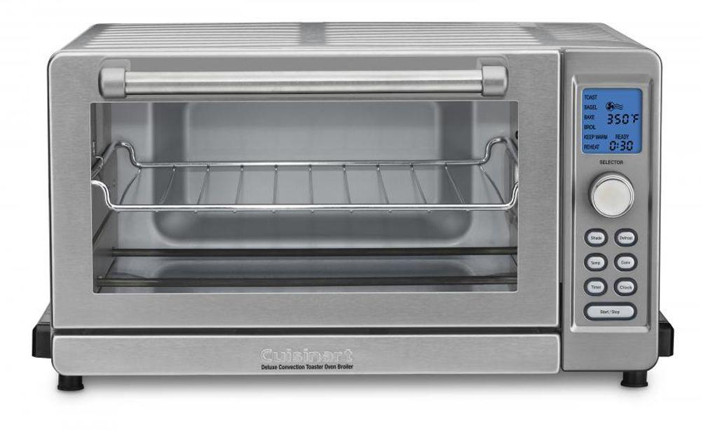 Cuisinart Deluxe Convection Toaster Oven Broiler Tob 135n