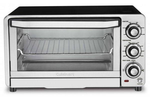 Cuisinart Stainless Steel Custom Classic Toaster Oven Broiler - TOB-40N