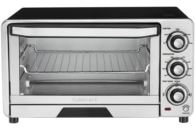 Cuisinart Stainless Steel Toaster Oven Broiler Tob 40n