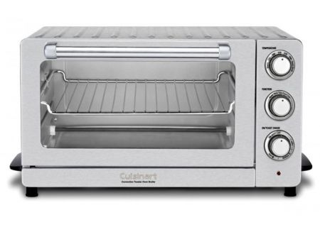 Cuisinart Stainless Steel Toaster Oven Broiler With Convection - TOB60N1